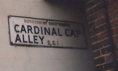 Cardinal Cap Alley crop