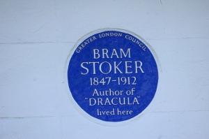 Stoker plaque