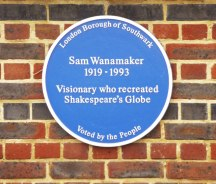 Blue_Plaque_for_Sam_Wanamaker,_Shakespeare's_Globe,_London_SE1_-_geograph.org.uk_-_1095599
