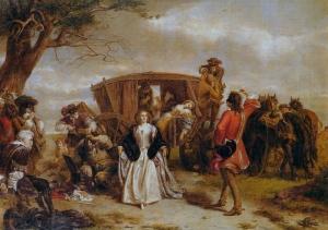Claude Duval painting