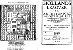 Hollands Leaguer play
