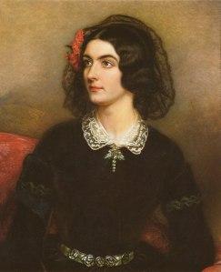 Lola Montez, the Spanish look