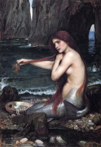 Mermaid by Waterhouse