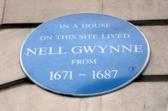 Nell Gwynne plaque
