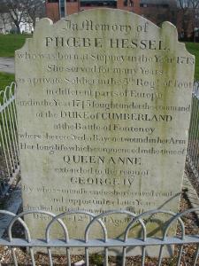 Phoebe_Hessel's_Gravestone