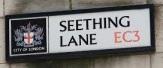 Seething Lane sign