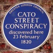 Cato Street plaque