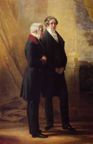 Duke of Wellington and Robert Peel