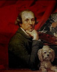Johann Zoffany self portrait