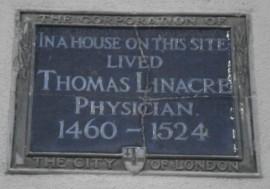 Linacre plaque
