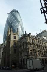 St Andrew and Gherkin
