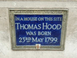 Thomas Hood plaque