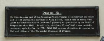 Drapers plaque website