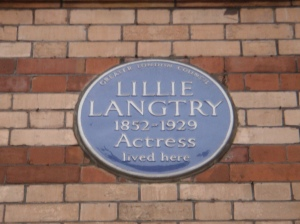 Langtry plaque
