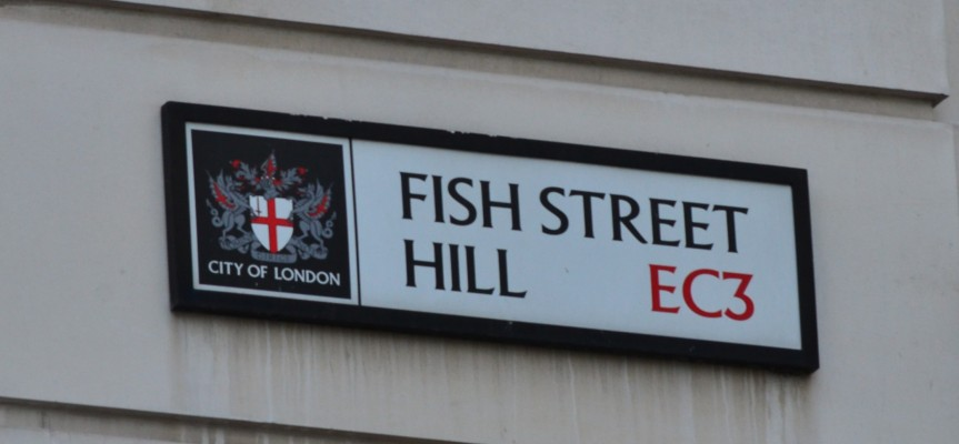 London's fishy streets: from Fish Street Hll to Shad Thames