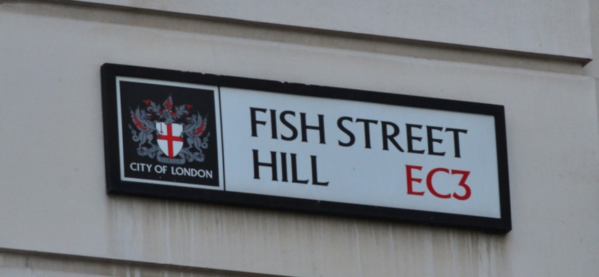 London's fishy streets: from Fish Street Hll to ShadThames