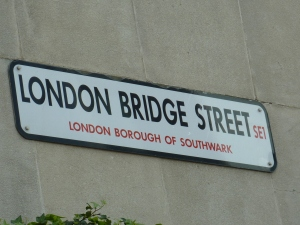 London bridge street