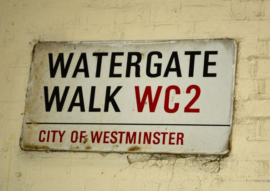 London's (watery) culinary streets: Water Lane to Watergate Walk