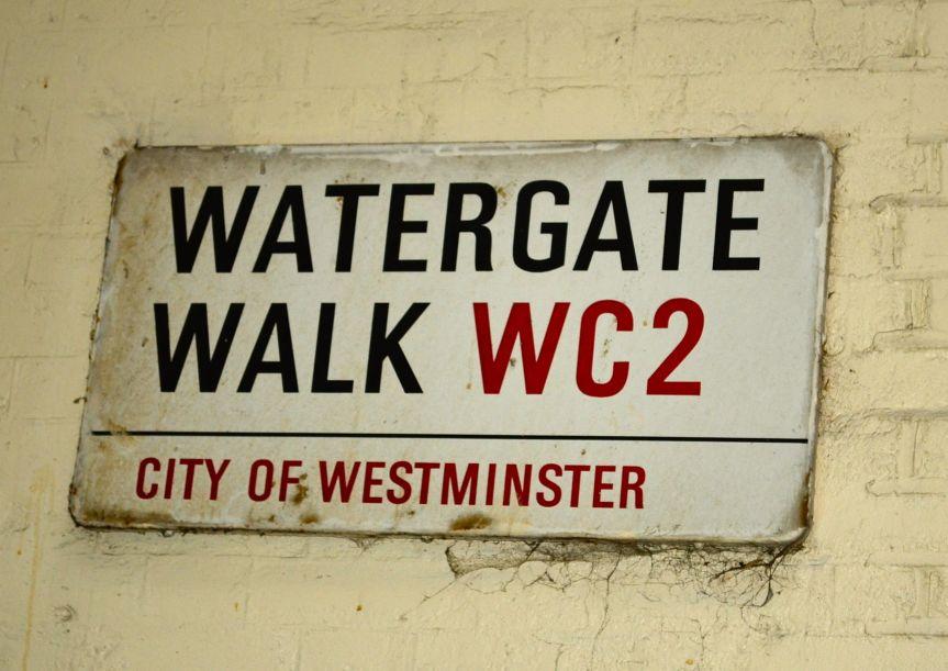 London's (watery) culinary streets: Water Lane to WatergateWalk