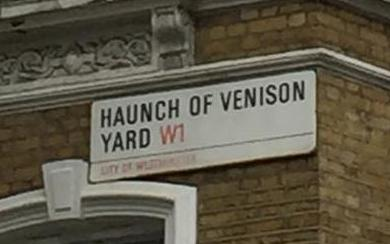 Haunch of Venison Yard crop